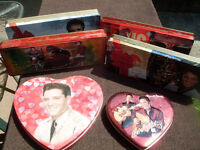 Elvis Presley / Russell Stover Collector Tins 6 Different