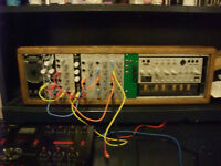 mini modular synth and case