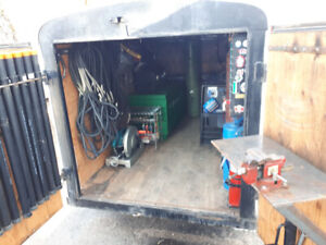 Welding Trailer with 325 EFI Trailblazer Welder