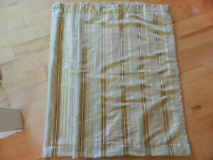 Small window - curtains - 2 panels