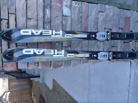Skis 160cm and boots