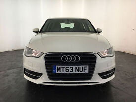 2013 63 AUDI A3 SE TDI DIESEL AUTOMATIC 1 OWNER SERVICE HISTORY FINANCE PX