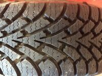 P205/60R16 GOODYEAR NORDIC WINTER TIRES