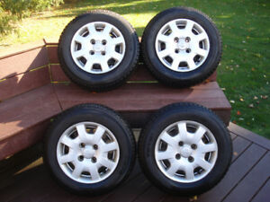 175/70/R14 snow tires on 4 bolt steel rims