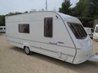 ACE Award Transtar 2004 4 Berth Single Axle Touring Caravan with Motor Mover