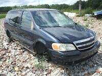PARTING OUT: 2004 CHEVROLET VENTURE