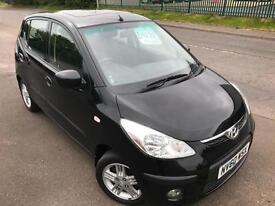 HYUNDAI I10 1.2 STYLE £25 WEEK NO DEPOSIT 15K MILES FSH CD/MP3 5 DR HATCH 2010