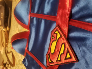 Supergirl corset/costume with cape