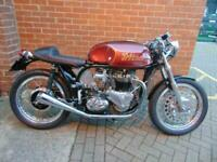 1970 NORTON TRITON CAFE 750 - LOADS OF HISTORY WITH THIS BIKE. VERY RARE!!