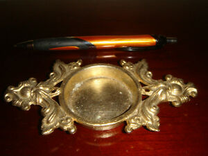 Vintage Detailed Metal Holder