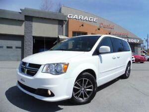 Dodge Grand Caravan SXT PREMIUM, CUIR, SUÈDE, TV DVD, CLEAN TITL