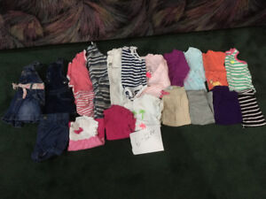 6-12 month girls baby lot (20 pieces)