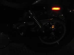Harley slip on exhaust pipes for wide glide and back rest WANTED