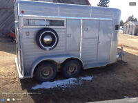 Wylie 16' Horse trailer with tack room