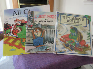 3 Fun Kids bks - Franklin's Bad Day, All Change, I Just Forgot
