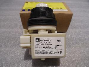 LED Push Button Switch White Brand New Square D Schneider Ele S Kitchener / Waterloo Kitchener Area image 2