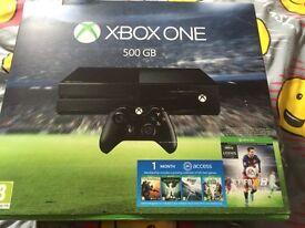 Xbox 1 , 500gb