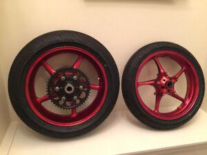 06+ Yamaha YZF-R6 Wheels