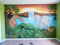 Children's Mural painter