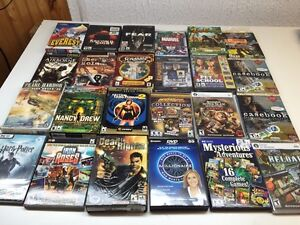 Lot of 24 PC Computer Games