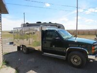 1999 Chevy 1 ton with Montreal Kitchen (Coffee Truck)