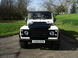 Land Rover Defender 110 TD5 pick custom build one owner from new.