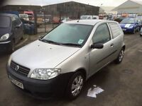 Fiat Punto Van jtd 1.3 Fsh Ideal First Car or small business Very Low Insurance 3 Month Warranty