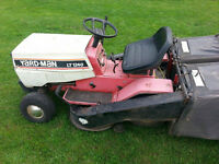 Tracteur a gazon Yard man 1240 prix ferme
