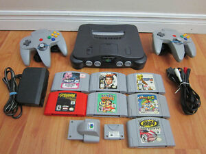 N64 System W/games,Gamecube W/Games,PS1 W/Games