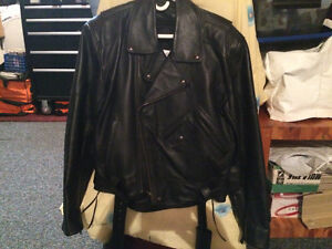 Used Once Motorcycle Leather Jacket