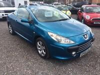 2005 PEUGEOT 307 2.0 S CONVERTIBLE FULL LEATHER INTERIOR