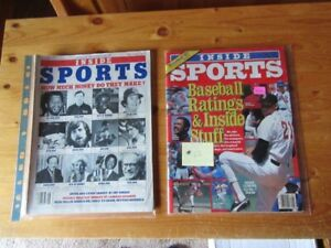 VINTAGE BASEBALL MAGAZINES / YEARBOOKS - REDUCED!!!!