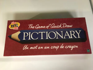 Pictionary Game – Brand new, still in cellophane wrapping.