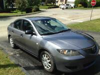 Mazda 3 2005 grise - Négociable