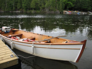 16 ft West Epoxy System Wooden Sail/motor Boat