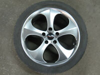 245/40/18 snow tires with rims for BMW