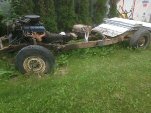 1976 Jeep J20 Frame and running gear