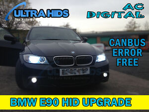 canbus terminator hid xenon conversion slim kit h7 35w e90 lci bmw e60 msport ebay. Black Bedroom Furniture Sets. Home Design Ideas