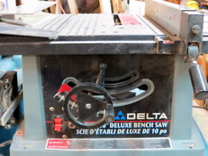 "10"" Deluxe Delta Table Saw"