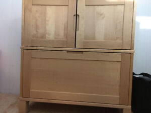 Filing cabinet solid wood