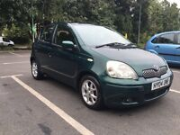 2004 TOYOTA YARIS AUTOMATIC 5 Door family car