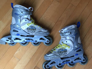 Patins a roues alignes extensibles / Rollerblades ajustable