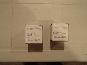 2 pcs of Hose thread Back Flow Preventors Sarnia Sarnia Area image 3