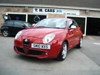 2010 (10) Alfa Romeo MiTo 1.4TB 120bhp Veloce 3d