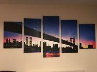 New York Skyline Canvas