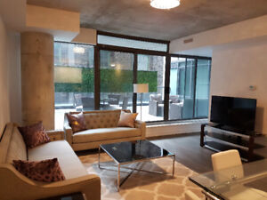Two bedroom fully furnished at 560 King st West