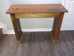 Hand-Crafted Solid Wood Desk