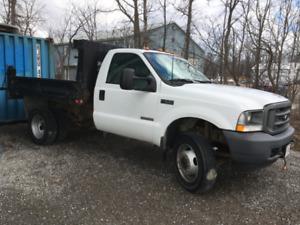 F550 Diesel Dump Truck