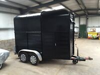 Horse box . Twin axle . Good overall condition. Tows well. Moto X trailer?