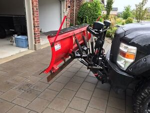 SNOW PLOW - WESTERN - 7.5' - Commercial Grade